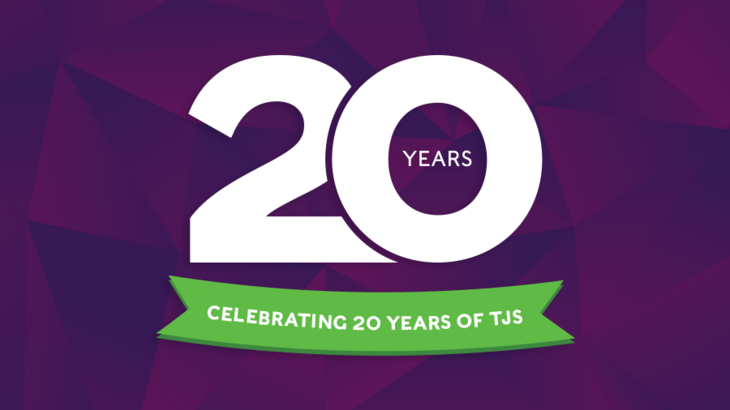 TJS – Celebrating 20 years of web design and development