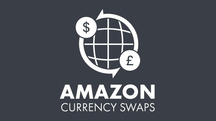 Amazon Currency Swaps giving the best foreign exchange rates with no commission