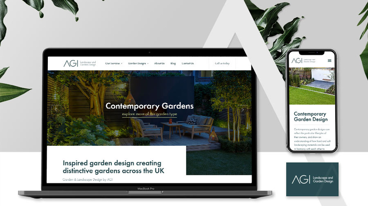 New website launch for AGI Landscape & Garden Design
