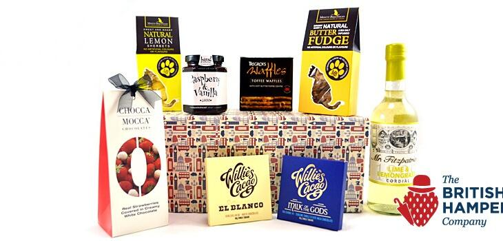 British Hampers Fine Foods site launched