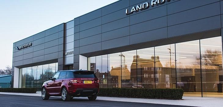 New Duckworth Jaguar & Land Rover Showroom - Boston