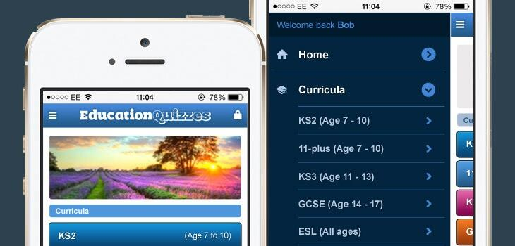Education Quizzes goes Mobile