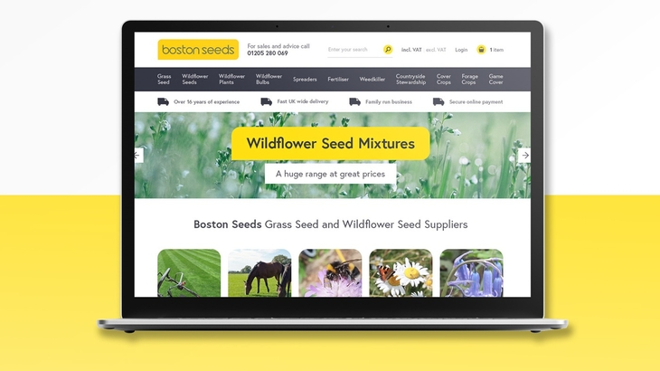 New website for Boston Seeds