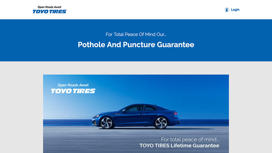 New site launch for innovative national tyre warranty website