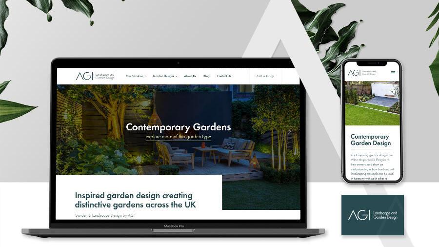New website launch for AGI Landscape & Garden Design