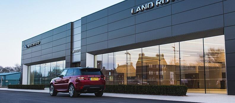 New Duckworth Jaguar & Land Rover Showroom - Boston