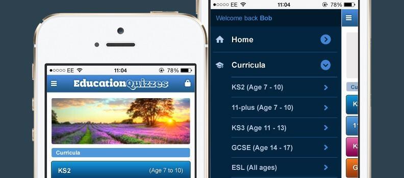 Education Quizzes goes Mobile