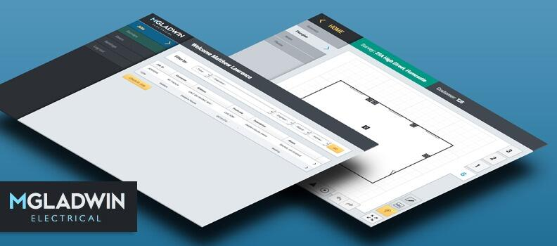 Unique web application for Lincolnshire electrical contractor