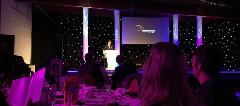 Proud Partner at the Lincolnshire Sports Awards 2014
