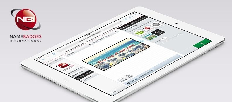 New mobile design engine for Name Badges International