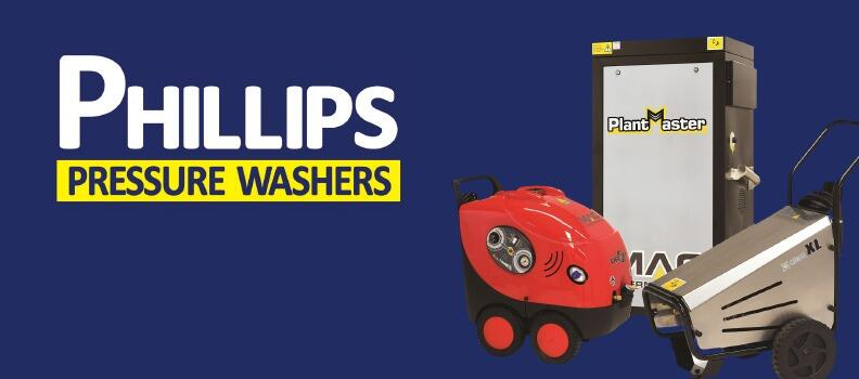 New website for Phillips Pressure Washers