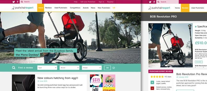 Pushchair Expert is fit for 2016
