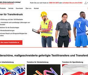 Garment Decoration Specialists – New Website Launch